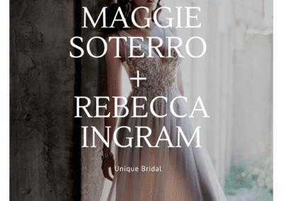 Maggie Sottero + Rebecca Ingram